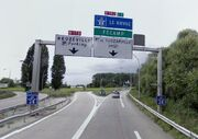 A131 - RN178 - RN182 - Pont de Tancarville