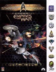 Starfleet Command 2 Empires at War box