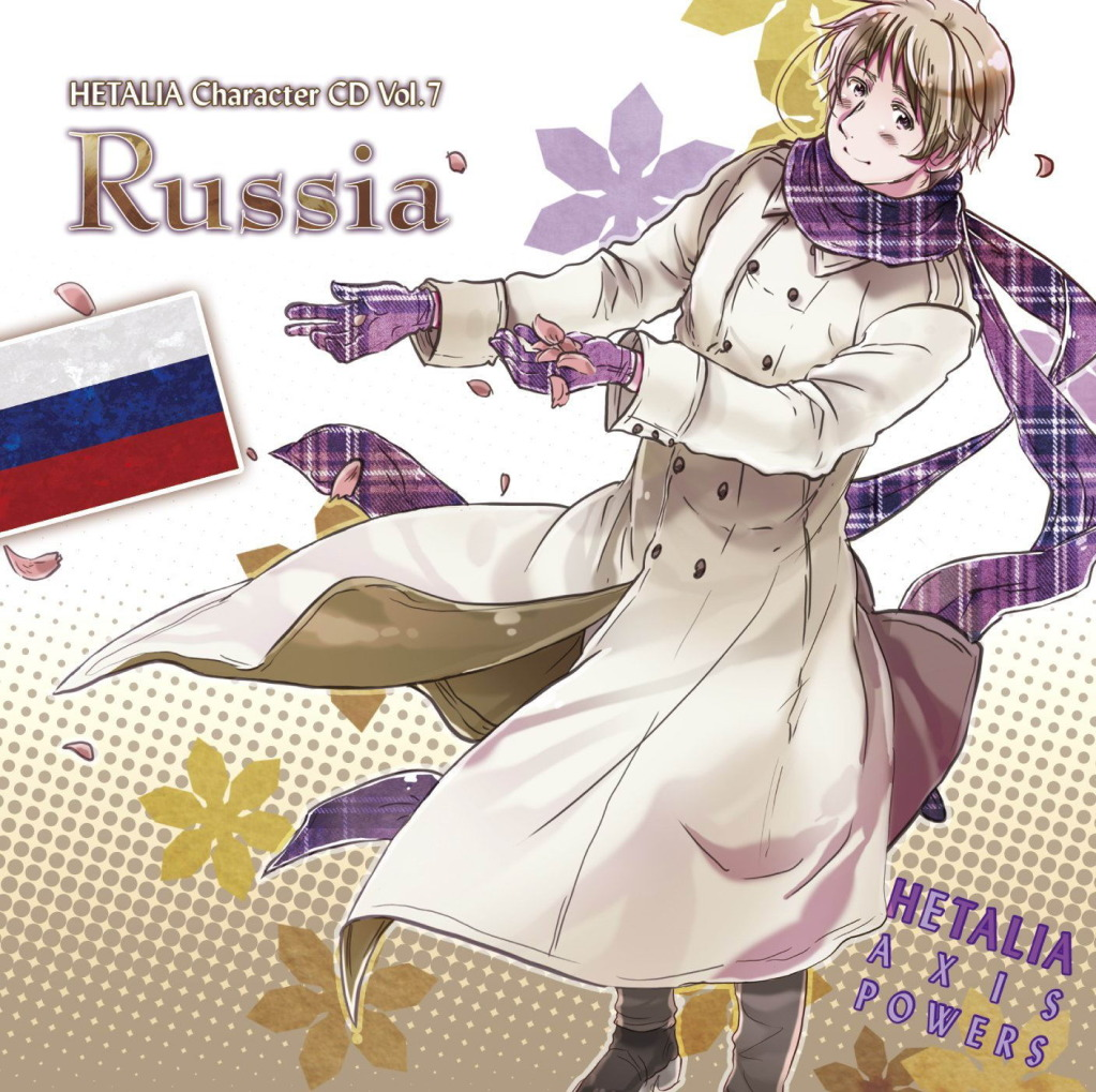 Hetalia: Axis Powers Character CD Vol.7- Russia - Hetalia ...