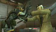 Naked Snake vs Gene
