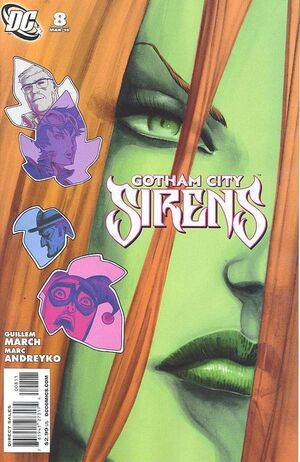 Cover for Gotham City Sirens #8