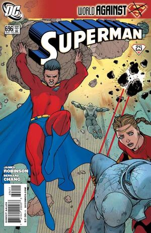 Cover for Superman #696