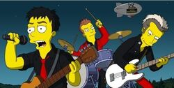 Green day simpsons