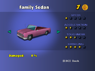 Family Sedan (menu)