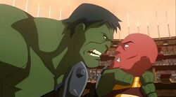 Hulk Threatens Red King PH