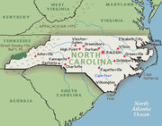 North-carolinamap