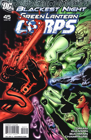Cover for Green Lantern Corps #45