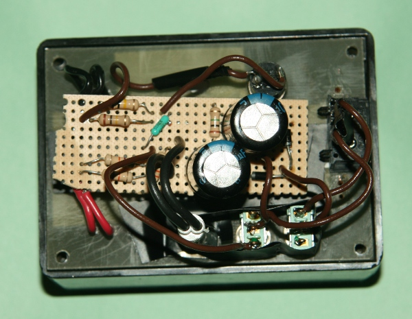 Photo-zener diode tester-internal circuit