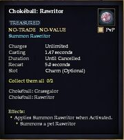 Chokball Rawritor