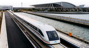 An Alliance maglev train.