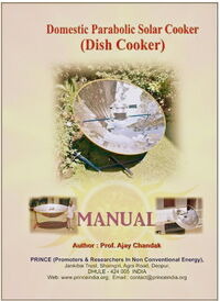 Domestic Parabolic Solar Cooker book cover