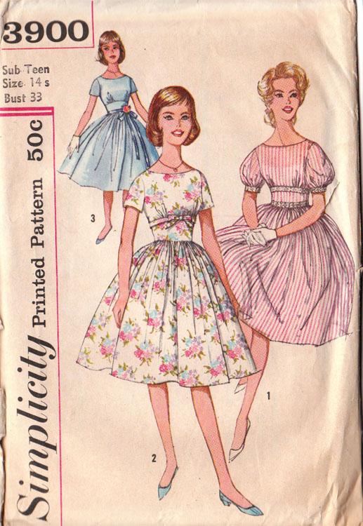 Simplicity 3900 (c. 1952)