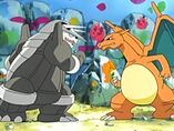EP454 Aggron y Charizard
