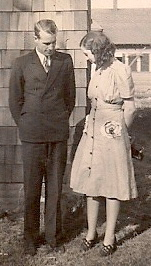 George and Geneva Lisenby 1941