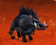 Dire Mottled Boar