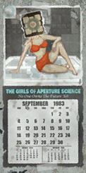 The girls of aperture science