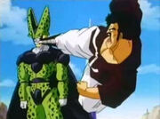 Mr. Satan vs Cell2