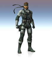 Snake's old SSBB artwork