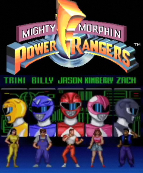 Mighty Morphin Power Rangers (SNES) - RangerWiki - the Super Sentai