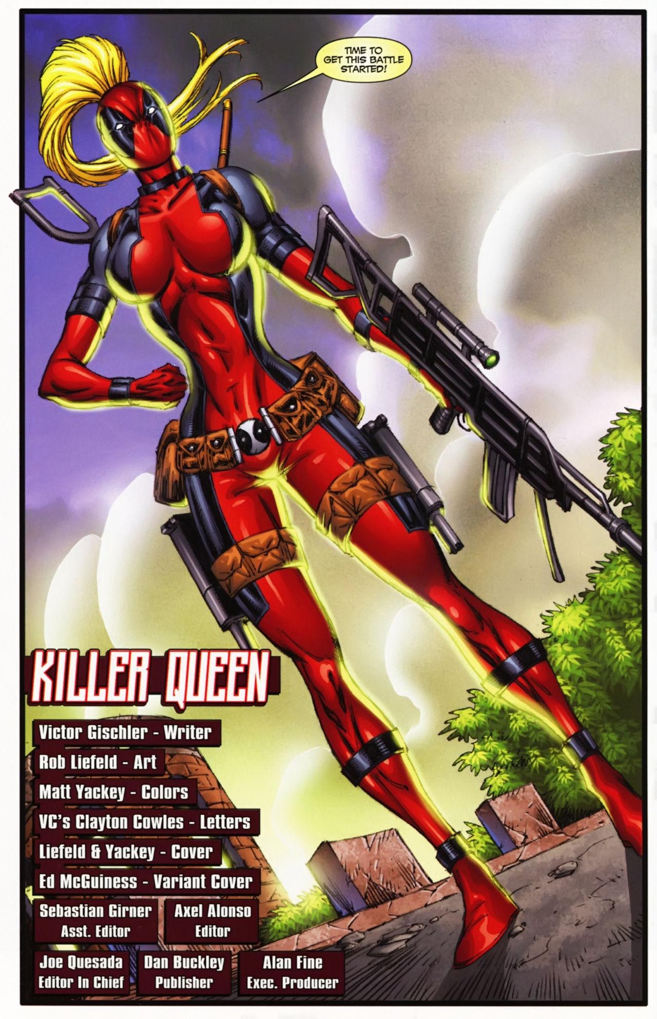 OakMonster.com - The real Lady Deadpool