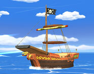Barco pirata SSBB