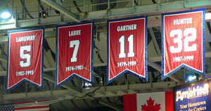 Washington Capitals retired numbers red