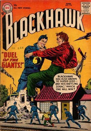 Cover for Blackhawk #110