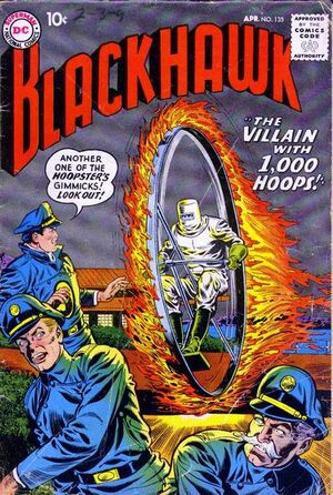 Cover for Blackhawk #135