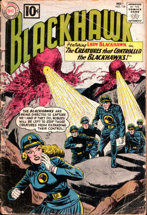 Cover for Blackhawk #166