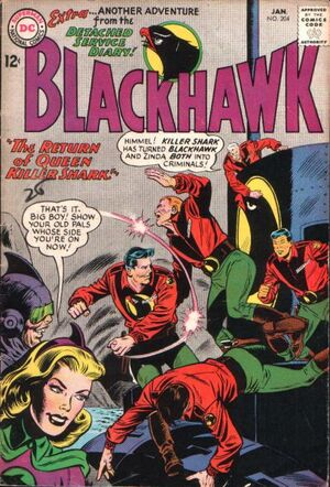Cover for Blackhawk #204