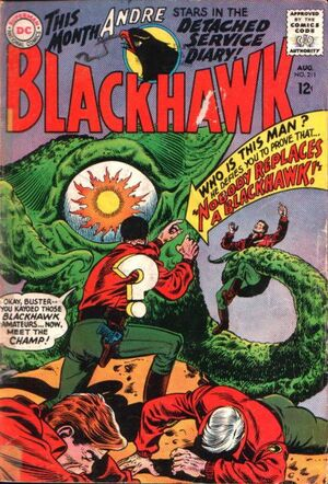 Cover for Blackhawk #211