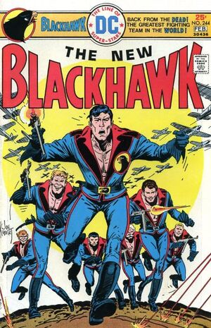 Cover for Blackhawk #244