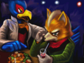 Falco cheers Fox up