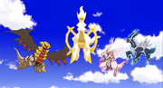 P12 Arceus y el trio dragon