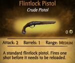 Flintlock Pistol