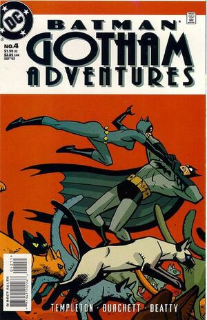 Cover for Batman: Gotham Adventures #4