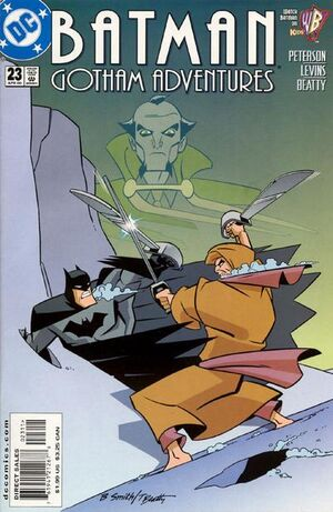 Cover for Batman: Gotham Adventures #23