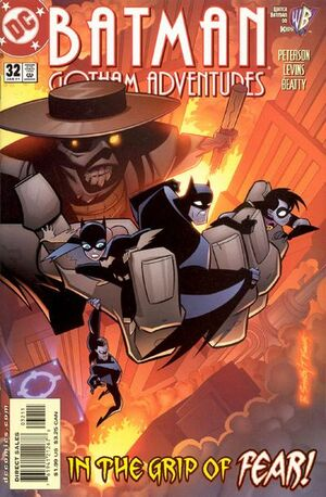 Cover for Batman: Gotham Adventures #32