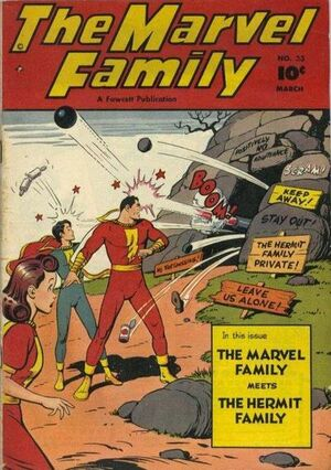Cover for Marvel Family #33
