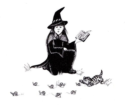 Авторские рисунки Джилл Мерфи. - Страница 4 495px-Worst_witch_book1007