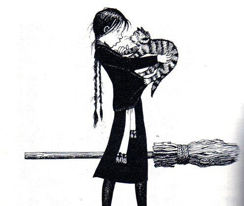 Авторские рисунки Джилл Мерфи. - Страница 4 496px-Worst_witch_book3006