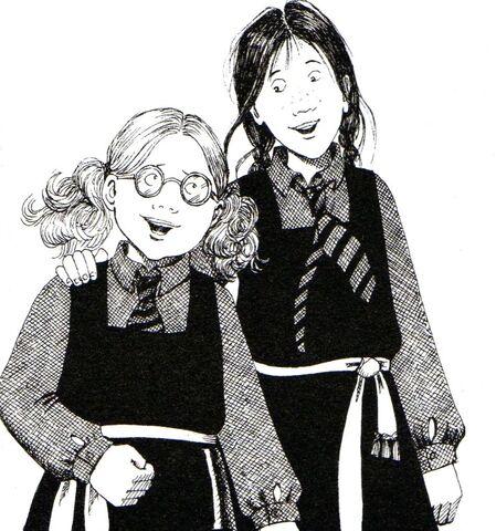 Авторские рисунки Джилл Мерфи. - Страница 2 449px-Worst_witch_book5008