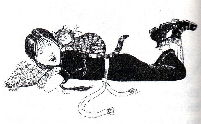 Авторские рисунки Джилл Мерфи. - Страница 4 679px-Worst_witch_book6003