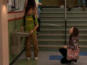 Seth helps Carly with the Water Fountain