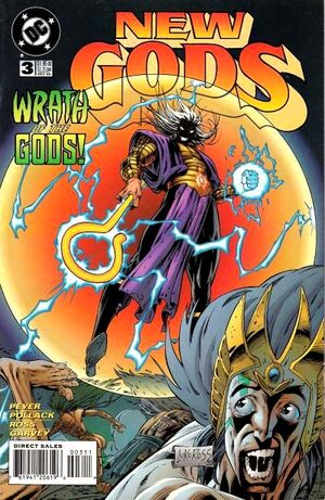 Cover for New Gods #3