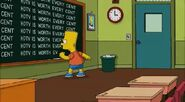 Simpsons chalkboard gag