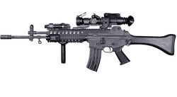 Daewoo K2 South Korea Assault Rifle
