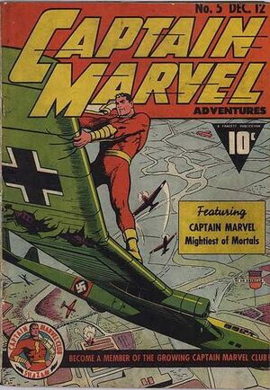 Cover for Captain Marvel Adventures #5