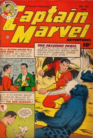 Cover for Captain Marvel Adventures #133