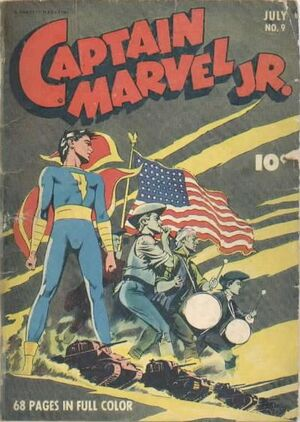Cover for Captain Marvel, Jr. #9